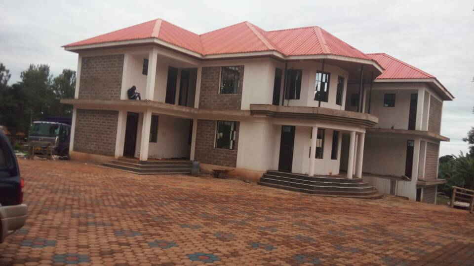 Administration Block in its final stages, to opened on the 7th October, 2017 by Rt. Rev. Isaac Amani, the bishop of Moshi Diocese.